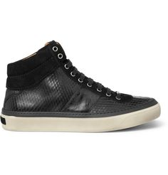 Not a running shoe either, but a Jimmy Choo High top?