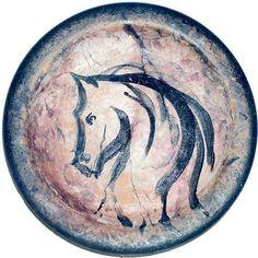 Bügelbild Pferd Antik