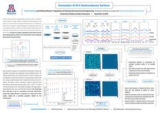 GPSC Student Showcase 2013: Passivation of III-V Semiconductor Surfaces