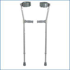 7. Drive Medical Heavy Duty Bariatric Steel Forearm Crutch Crutches, Chrome, Medical, Steel, Spoon, Top, Ebay, Crutch, Medicine