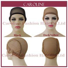 グルーレスレースのかつらキャップを作るためのかつらで調節可能なストラップウィービングキャップ用女性ヘアネット& hairnets easycap卸売6032