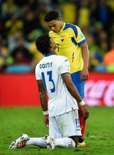 FIFA World Cup 2014: Honduras vs Ecuador 26th Match in Pictures