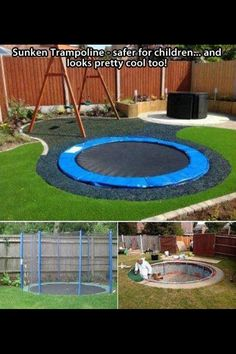 Chris found this and wants to do this in the fall with a smaller one. I love it!