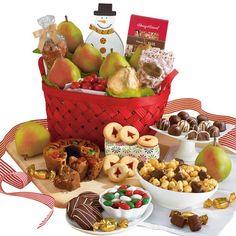 Harry & David Christmas Gift Basket D...