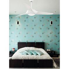Ventilador de techo blanco Led Kailua 33408 Faro [33408] - 314,21€ :