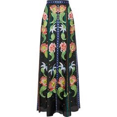 Temperley London Carmelina embroidered silk-organza maxi skirt ($2,680) ❤ liked on Polyvore featuring skirts, maxi skirts, bottoms, saia, temperley london, black, long skirts, embroidered skirt, long floral skirts and embroidered maxi skirt