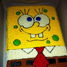 Jade's Sponge Bob cake! Made by my awesome sister, Megan!