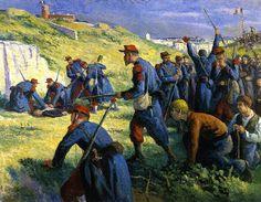 Maximilien Luce-The Execution of Varlin - Maximilien Luce — Wikipédia