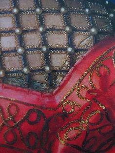 Portrait of Eleonora di Toledo (detail), Agnolo di Cosimo Bronzino (Italian, Renaissance Costume, Renaissance Fashion, Italian Renaissance, Renaissance Art, Elizabethan Costume, 16th Century Clothing, National Gallery, Passementerie, Equine Art