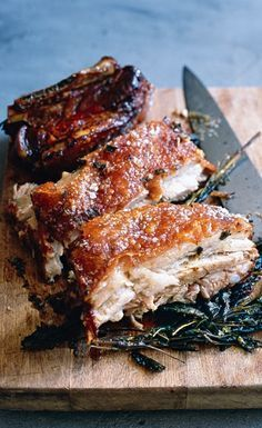 Sage-Roasted Pork Belly | Donna Hay - repinned by @LaVieAnnRose