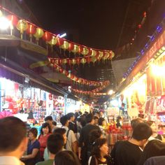 Hustle and bustle of Chinatown