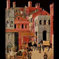 Ambrogio Lorenzetti, Good Government, Palazzo Pubblico, Siena, c. 1338 (detail)