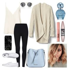 """""""Clean & bright"""" by anjolea on Polyvore featuring Armani Jeans, Anine Bing, Vans, Gap, Prada, Too Faced Cosmetics, Maybelline and Marc Jacobs"""