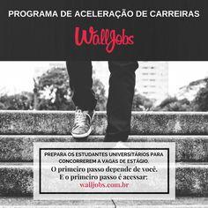 Freela para a Startup WallJobs. Criação de posts para Mídias Sociais, conteúdo escrito entre outras funções como Social Media.