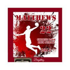 Personalized Grunge Basketball Locker Sign by Brightleez on Etsy