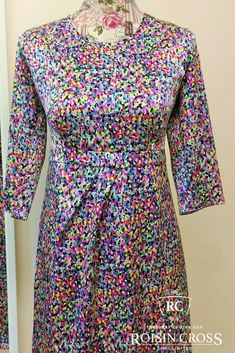 Dressmaking service for ladies day wear and occasional wear dresses and blouses at Roisin Cross Silks, Dublin Call us on 1 2846282 Day Dresses, Summer Dresses, Dress Making Patterns, Printed Silk, Ladies Day, Silk Satin, Dressmaking, Vogue, Lady