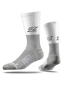 Even if no one else can see them, these Akron Zips Split Mens Crew Socks are a great way to show your Zips spirit. Rally House has a great selection of new and exclusive Akron Zips t-shirts, hats, gifts and apparel, in-store and online. University Of Akron, Akron Zips, Blue Streaks, Patent Heels, Strap Heels, Crew Socks, Digital Ink, Men's Shoes, High Top Sneakers