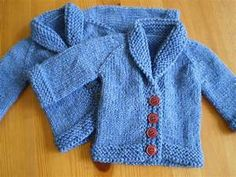 easy baby knitting patterns free download | My Crochet