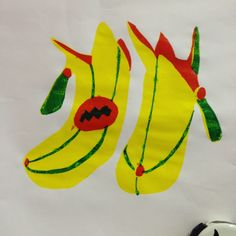 By me! Billy Connolly's Banana Boots in screenprint