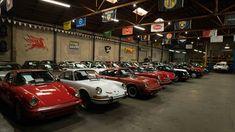 Impressive Porsche Collection at Beverly Hills Car Club