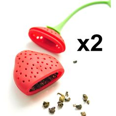 BornIsKing 2Pcs lovely Reuseable Foof safe Silicone Red Strawberry Shape Tea Leaf Bag Holder Tea Coffee Punch Filter Tea Infuser #>=#>=#>=#>=#> Click on the pin to check out discount price, color, size, shipping, etc. Save and like it!