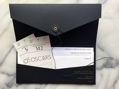 87th Academy Awards Ticket Packet on Behance