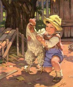 american farm illustrations - Google Search