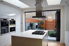outdoor room kitchen to garden room modern small garden design low maintenance contemporary design london