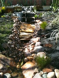 Exploring the Outdoor Classroom: Water Features and Dry River Beds