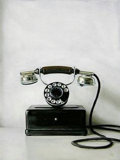 빈티지 전화기