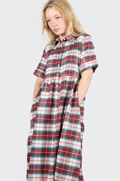 """undefined on <a href=""""http://www.goodasgold.co.nz/collections/this-is-welcome/products/teachers-pet-tea-dress-plaid"""">Good as Gold</a>"""