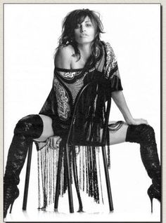 Saucy Gina Gershon in over the knee boots Beautiful Celebrities, Beautiful Actresses, Gorgeous Women, Female Celebrities, Gina Gershon, Sexy Boots, Dark Beauty, Look Fashion, Beauty Women