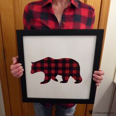Here's an example of how fashion influences home décor. I love plaid.