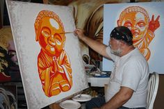 baby buddha nearly done by dragoslav drago milic