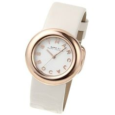 Marc-Jacobs Amy Cream Watch MBM8556 Marc by Marc Jacobs. $142.83. Stainless Steel Case. Cream Leather Strap