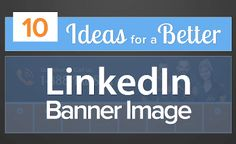 10 Ideas for a Better LinkedIn Banner Image by HubSpot All-in-one Marketing Software via slideshare Marketing Software, Business Marketing, Content Marketing, Online Marketing, Social Media Marketing, Digital Marketing, Best Practice, Linkedin Banner Images, Company Banner