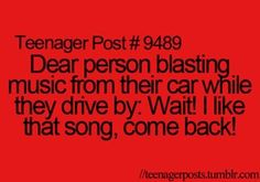 Come back; THAT'S MY JAM!!! LOL XD