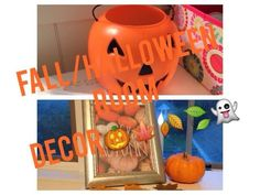 Fall.Halloween DIY Room Decor