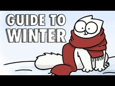 Simon's Cat Offers Helpful Hints to Staying Warm, Dry and Happy During the Winter