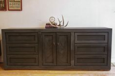 Rustic dresser or buffet by megmade in 1623 West Montrose Avenue, Chicago, IL 60613, USA ~ Apartment Therapy Classifieds