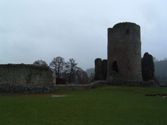 Offical Blog of Debbie Peterson: The Wispy, Women in White at Tretower Castle... As...