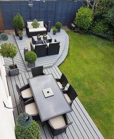 Amazing Ideas for Small Backyard Landscaping - My Backyard ideas Back Garden Design, Modern Garden Design, Backyard Patio Designs, Small Backyard Landscaping, Backyard Ideas, Pinterest Garden, Design Jardin, Garden Makeover, Garden Seating