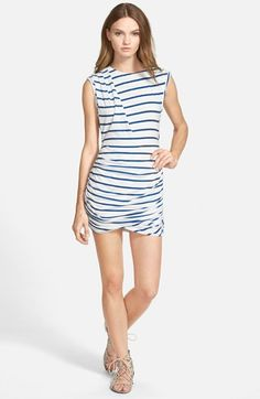 Pam & Gela Twisted Sleeveless Dress available at #Nordstrom