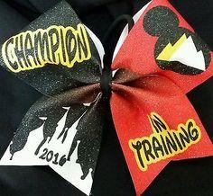 Cheer Bow - Champion in Training Summit - Hair Bows Cheer Bow