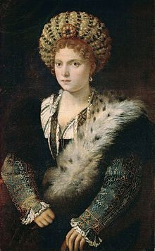 18 May 1474 - Birth of Isabella d'Este.She was Marchesa of Mantua and one of the leading women of the Italian Renaissance as a major cultural and political figure.
