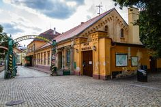 The old brewery in Znojmo, Moravia, Czech Republic