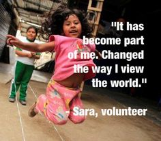 """""""It has become part of me. Changed the way I view the world."""""""