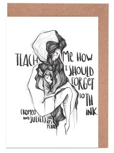 Romeo and Juliet Grußkartenset Jetzt bestellen unter: https://moebel.ladendirekt.de/dekoration/accessoires/?uid=f42e53a3-75b8-564f-a0b0-693ad595f25e&utm_source=pinterest&utm_medium=pin&utm_campaign=boards #accessoires #fiction|love #dekoration Bild Quelle: www.juniqe.de