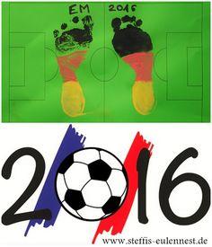 Basteln Mit Kindern, EM 2016, Fussball , Weltmeister, Europameisterschaft  2016, Die Mannschaft