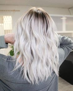 Perfect Platinum Blonde Hair
